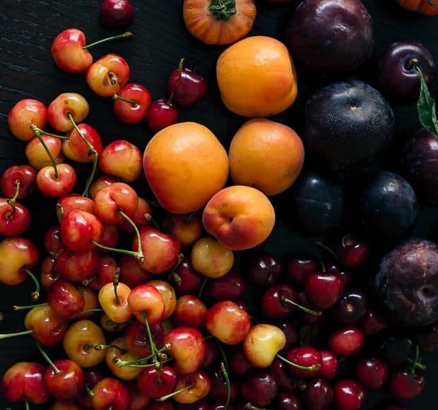 Farmer's Market Bounty - Shades of Sunset | www.kitchenconfidante.com