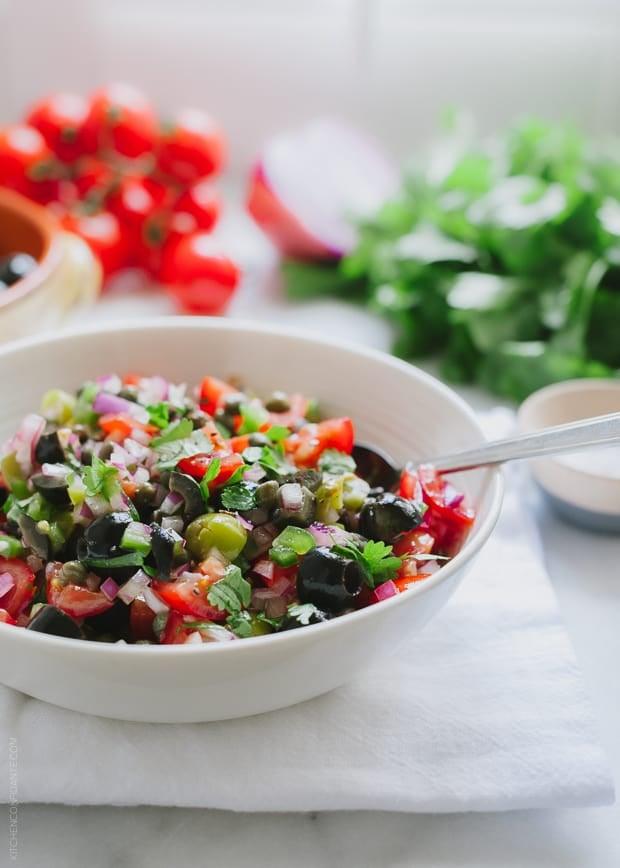 Olive Tomato Salsa