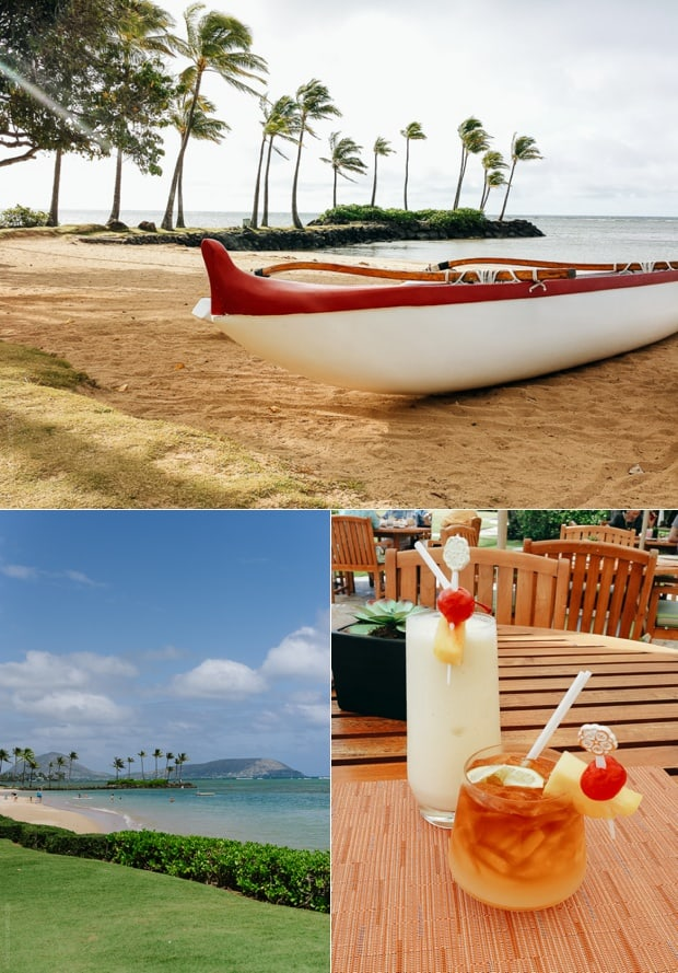 A collage of scenes from Honolulu.