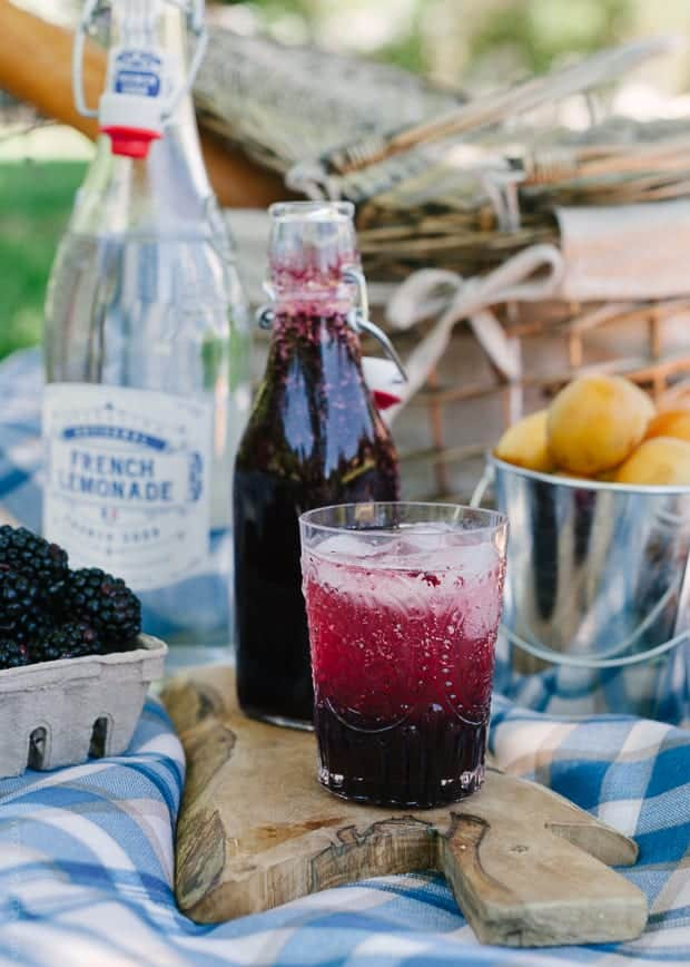 Blackberry Shrub Lemonade