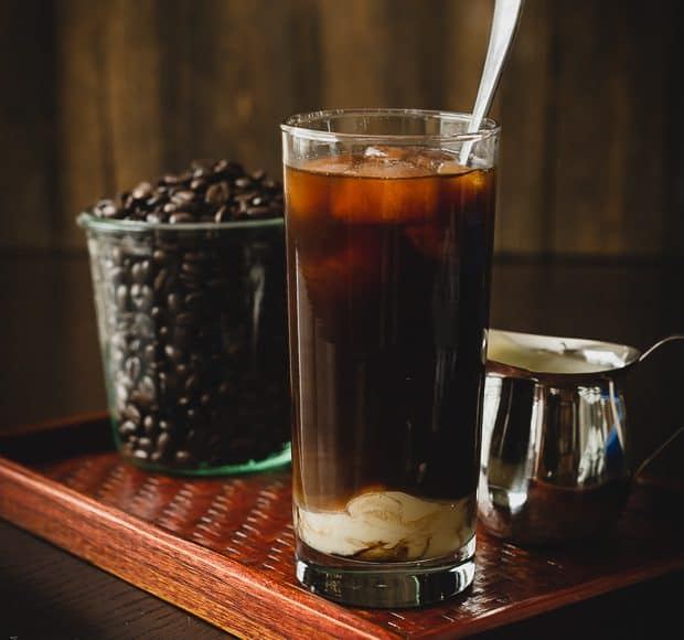 Homemade Thai Iced Coffee | www.kitchenconfidante.com