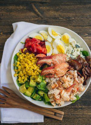 Lobster Cobb Salad | www.kitchenconfidante.com