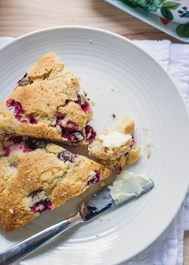 Make-Ahead Cranberry Scones