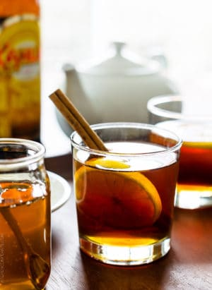 Stay cozy this winter with a Chai Hot Toddy, made even more toasty with Kahlúa!
