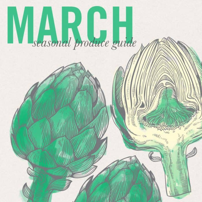March Eat Seasonal 2015