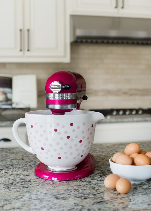 Pink KitchenAid Stand Mixer