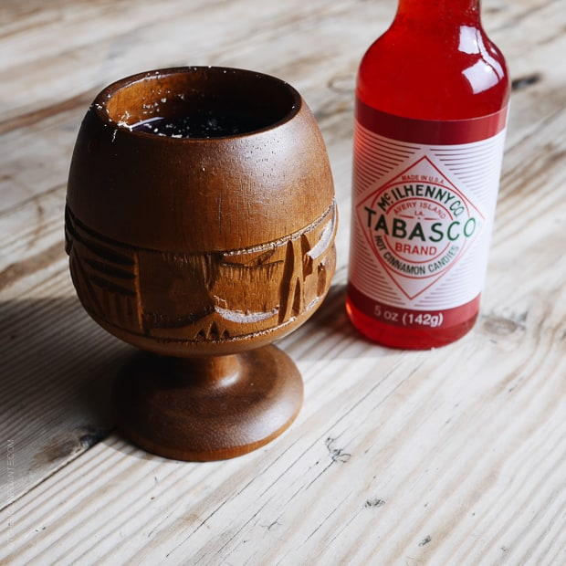 Scenes from Avery Island and Tabasco - www.kitchenconfidante.com - Shaken Skull Punch