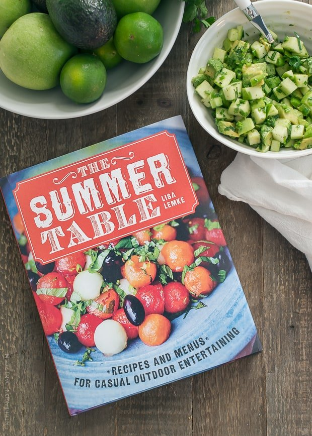 The Summer Table by Lisa Lemke, a cookbook.