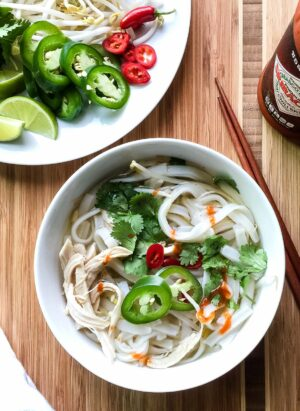 Faux Pho | www.kitchenconfidante.com | Don't have hours to simmer broth? Now you can have pho in half an hour!