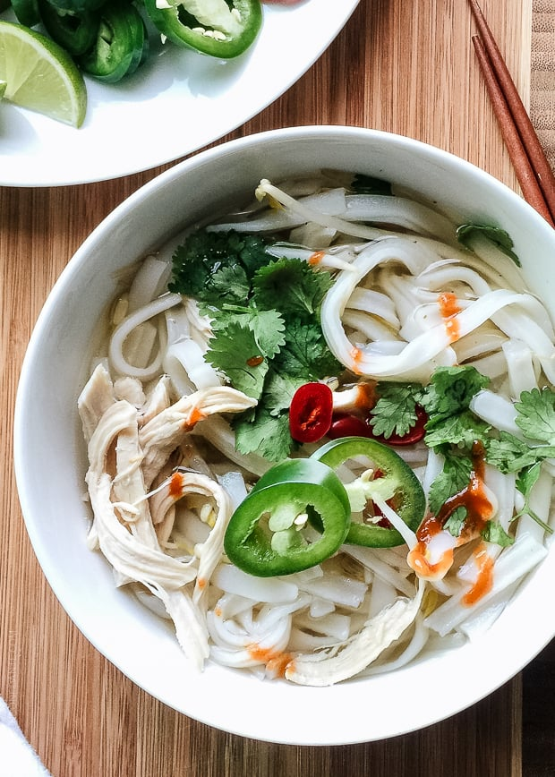 Faux Pho | www.kitchenconfidante.com | Pho in a flash in just 30 minutes.