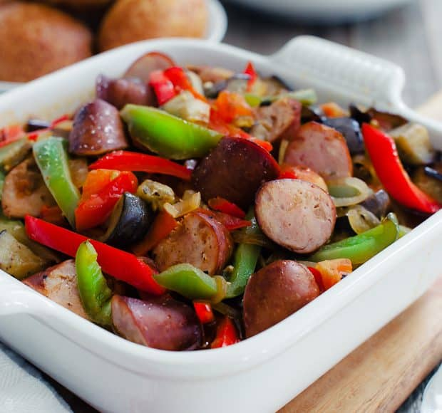 recipe: what to serve with sausage and peppers [34]