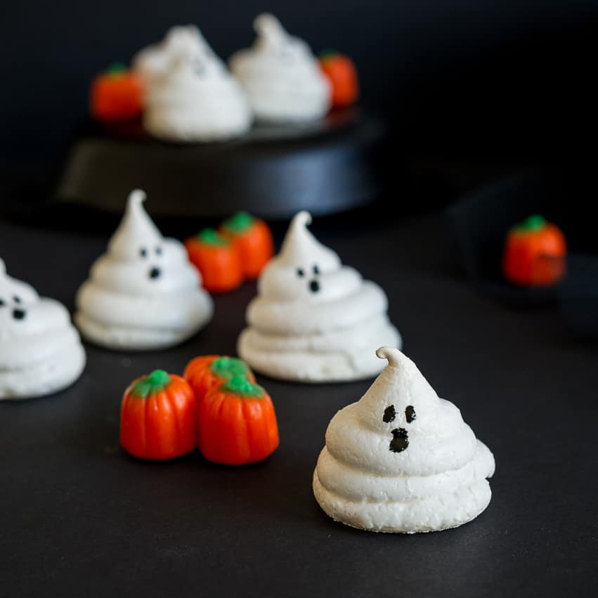 Friendly Ghost Meringues And More Halloween Treats