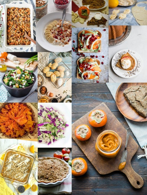 A collage of Eat Seasonal in December Recipes.