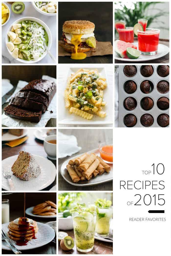 2015 was a delicious year. Come explore the Top 10 Reader Favorite Recipes on Kitchen Confidante.