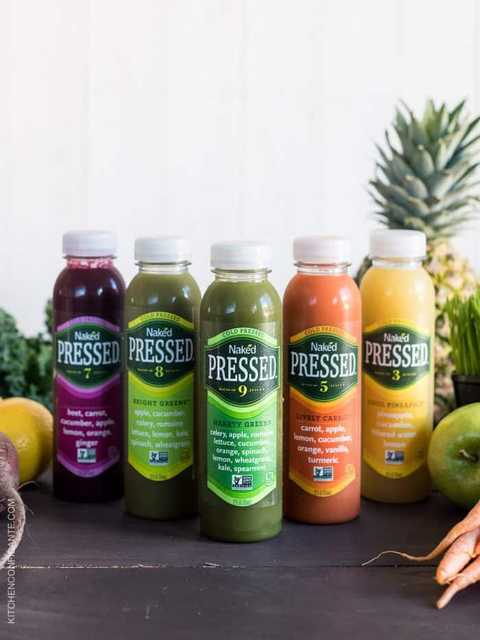 Fresh and wholesome Naked Cold Pressed Juices are a delicious way to drink your fruits and veggies!