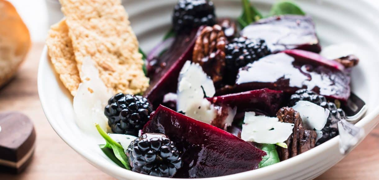 If you love beets, you will love this colorful Blackberry Beet Salad with Blackberry Balsamic Dressing. And if you don't, this just might change your mind.
