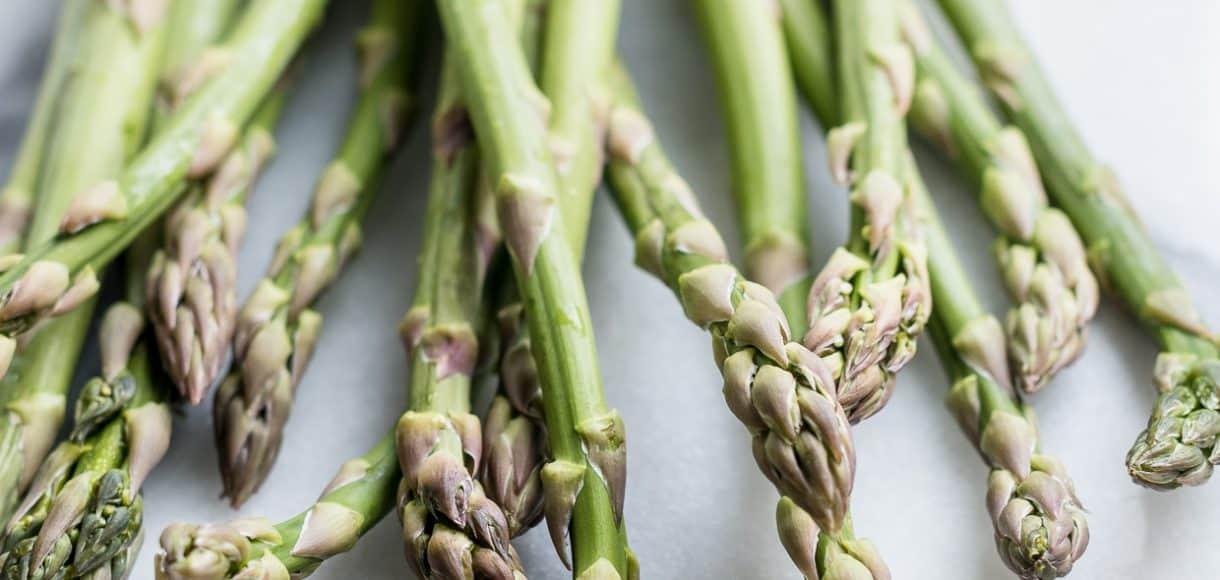 Spring's tender asparagus.