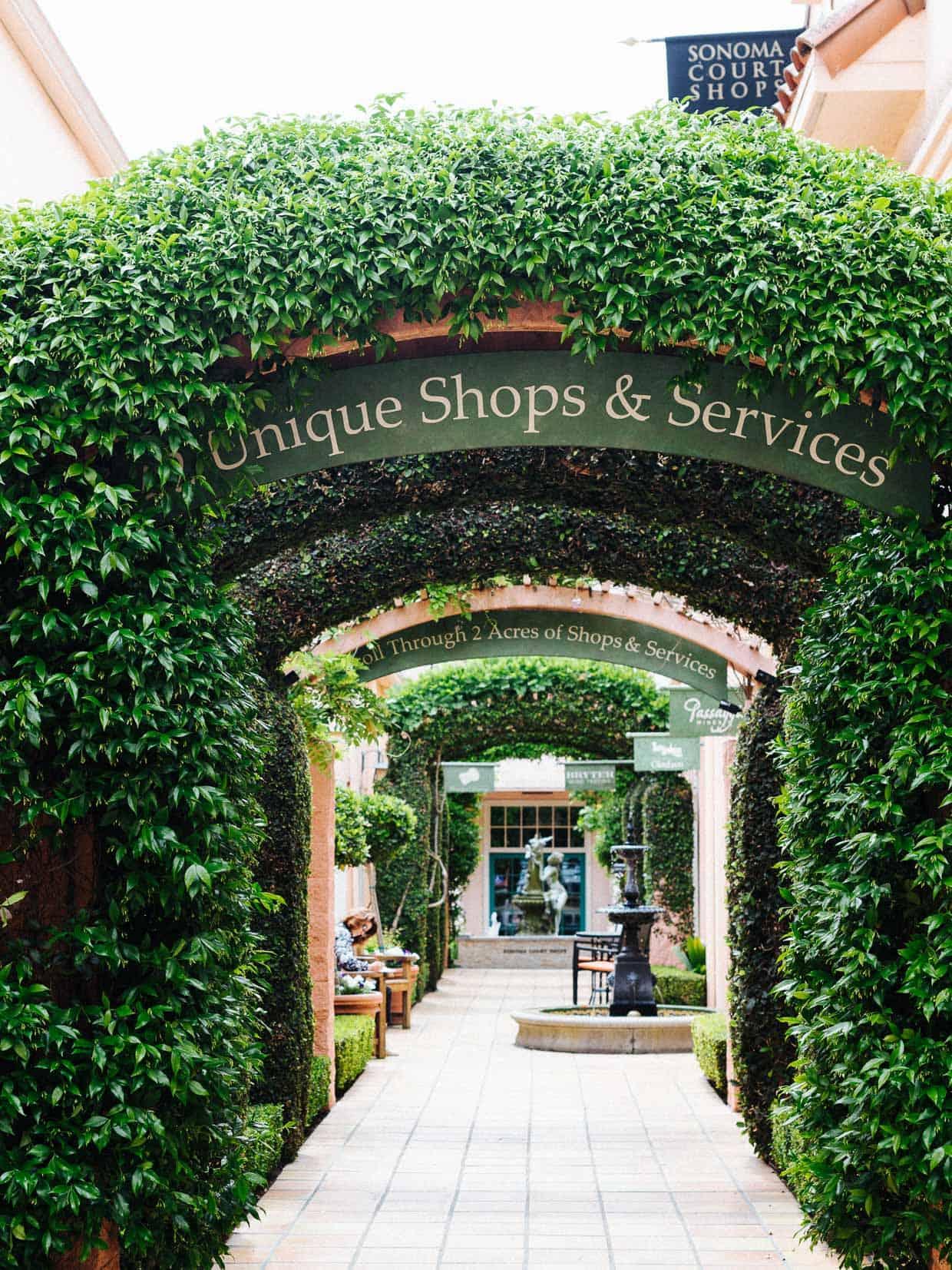 Sonoma Court Shops.