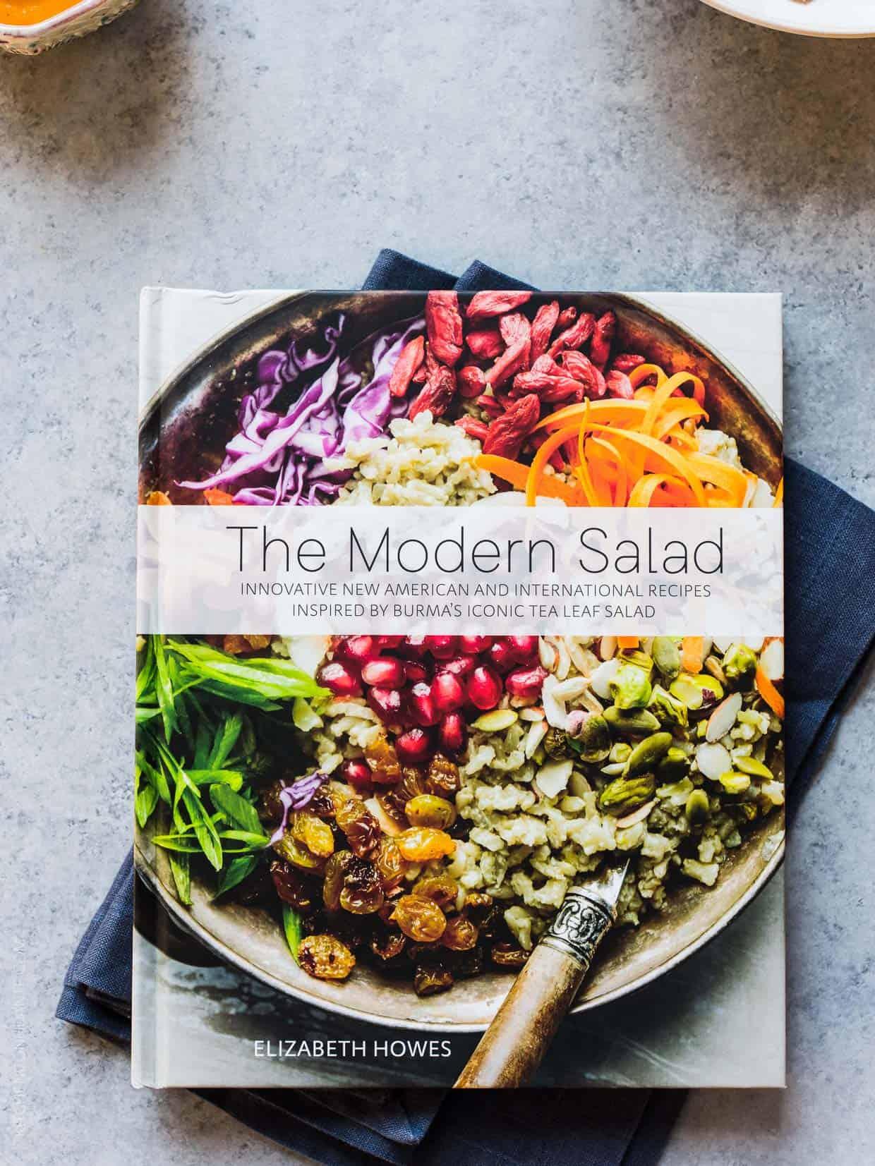 The Modern Salad cookbook by Elizabeth Howes.