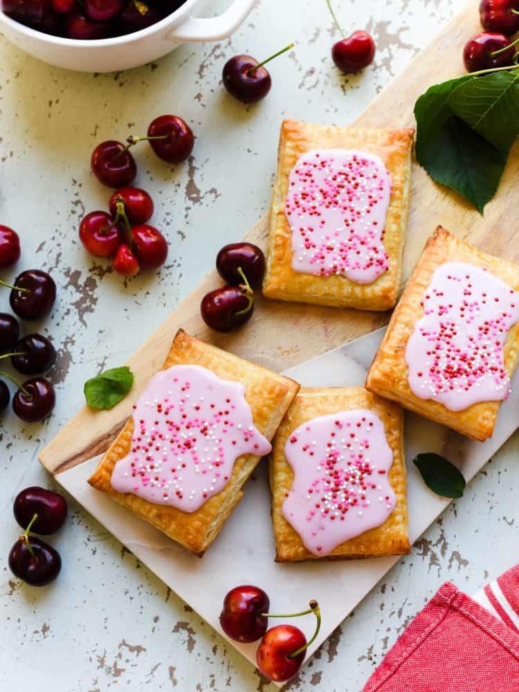 Homemade Cherry Pop Tarts