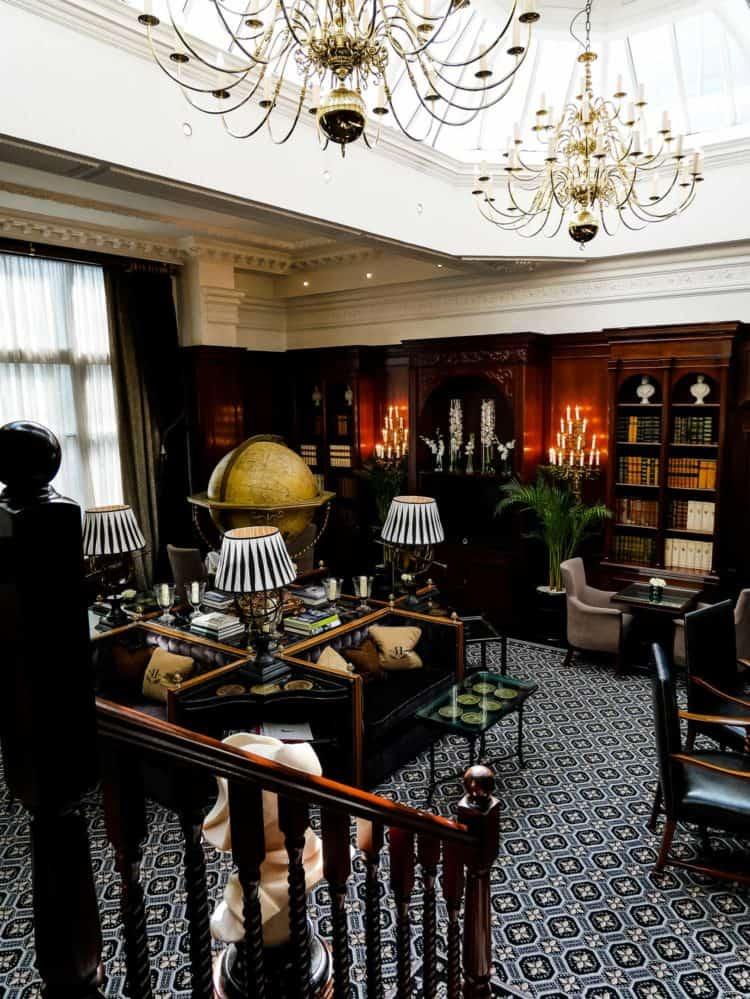 Hotel 41 Executive Lounge interior.