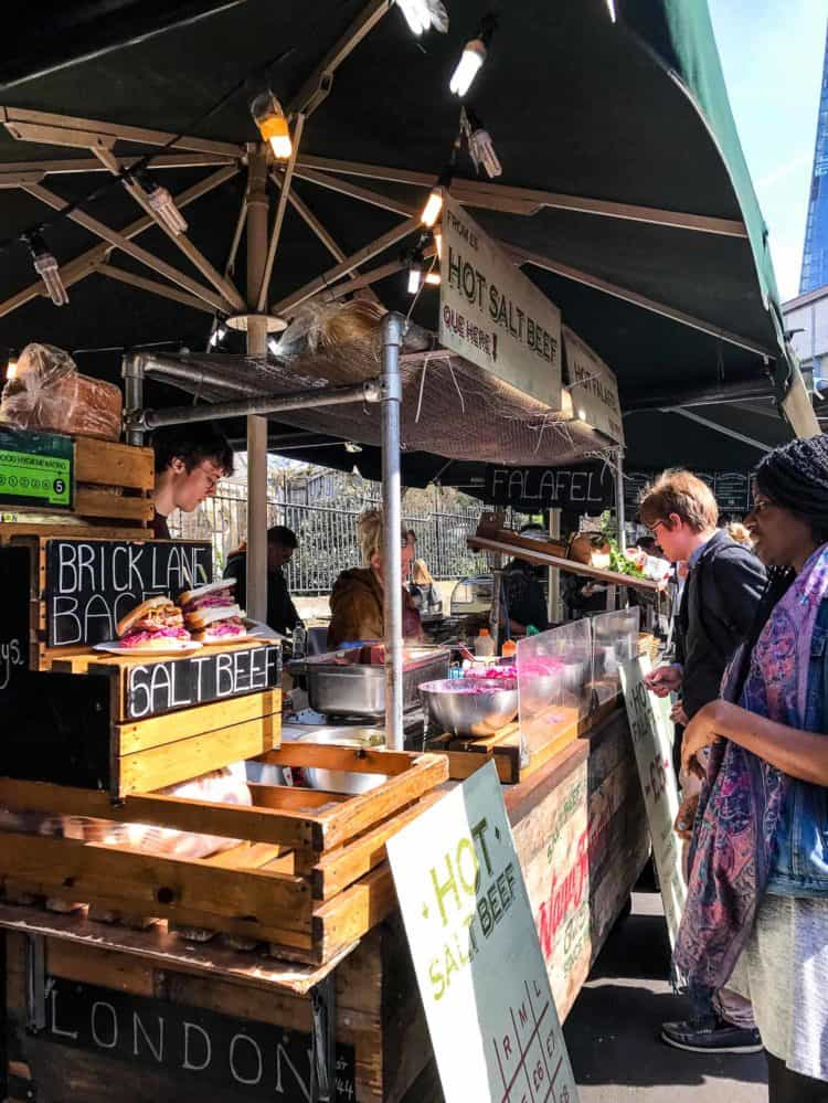 Eating is endless at Borough Market. Find out more in my Family Travel Guide.