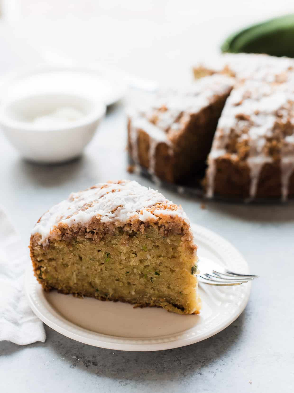 Have A Slice Of Coconut Zucchini Coffee Cake This Is Summery Twist On The