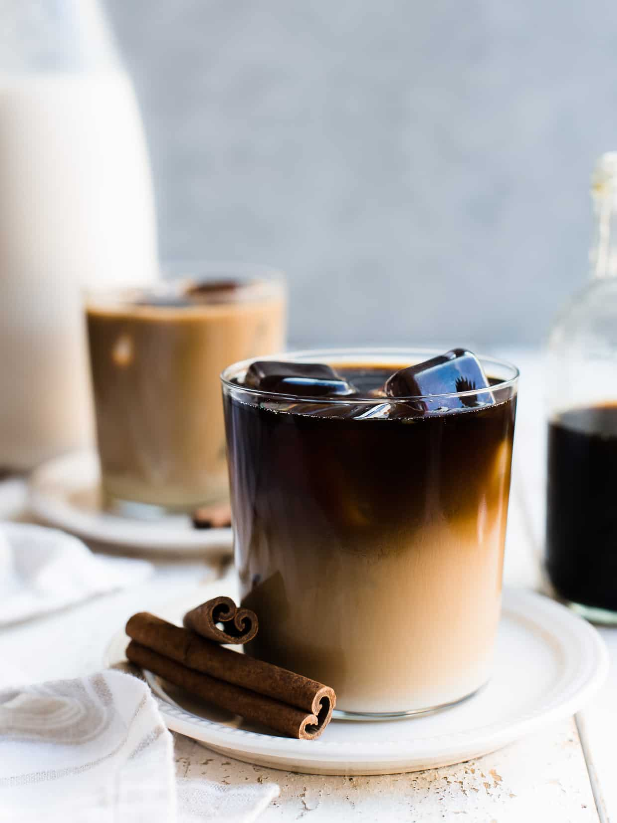 Treat yourself to a glass of Horchata Cold Brew Latte. Make your iced coffee even more special by making it with homemade horchata! This post is sponsored by Horizon Organic.