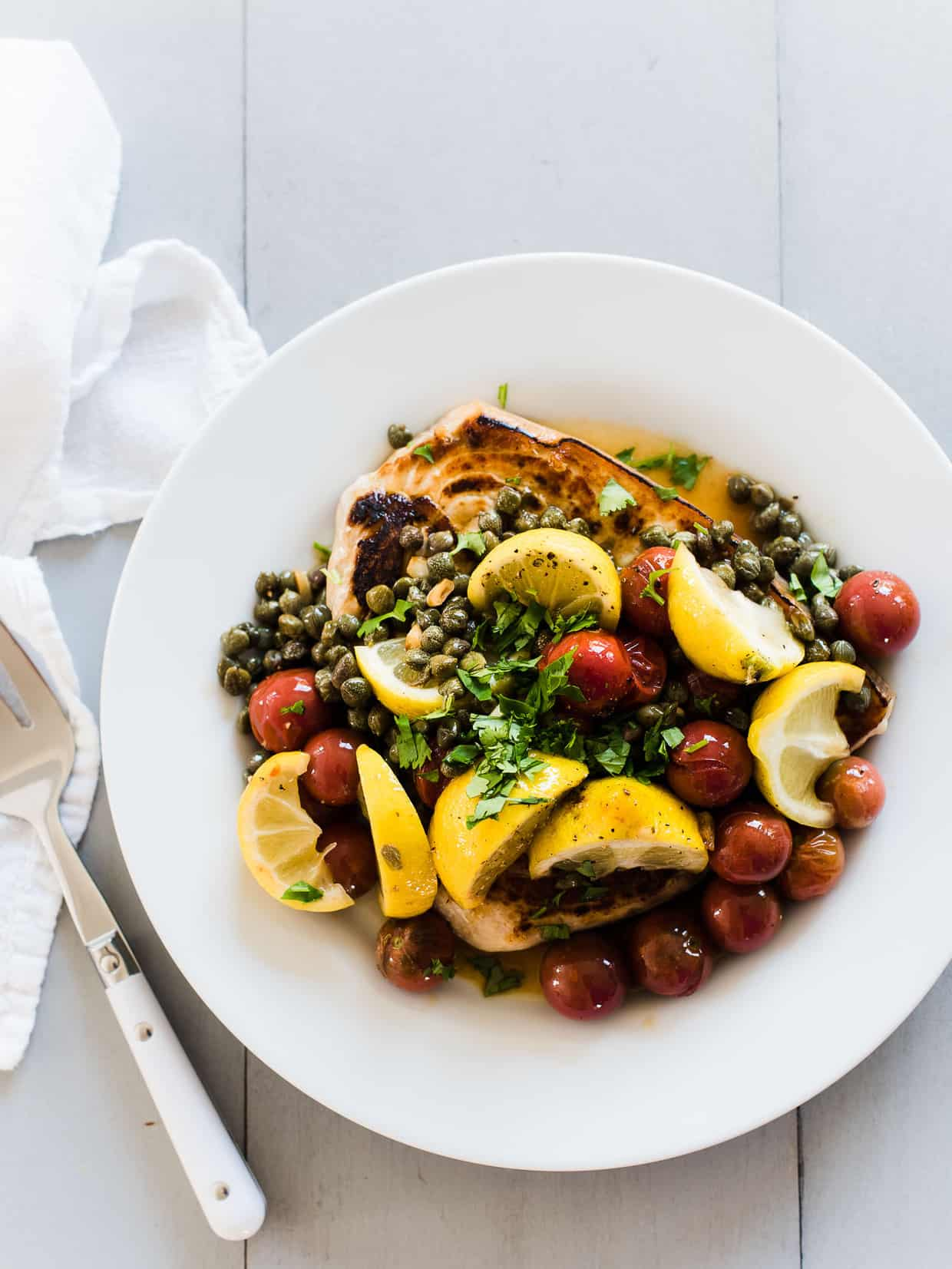 A delicious and simple Swordfish recipe from Chef Jamie Oliver.