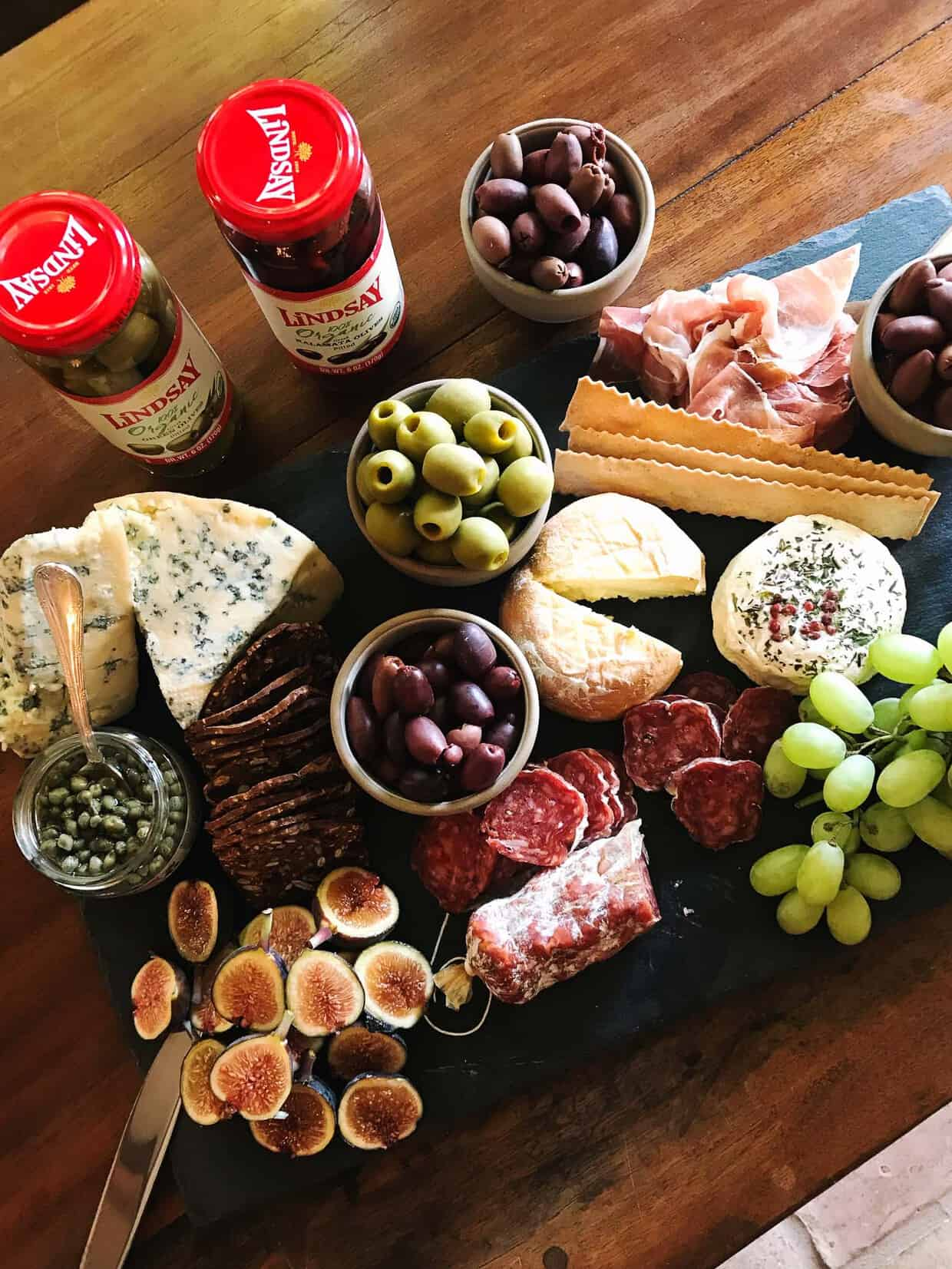 Charcuterie Board with Lindsay Olives