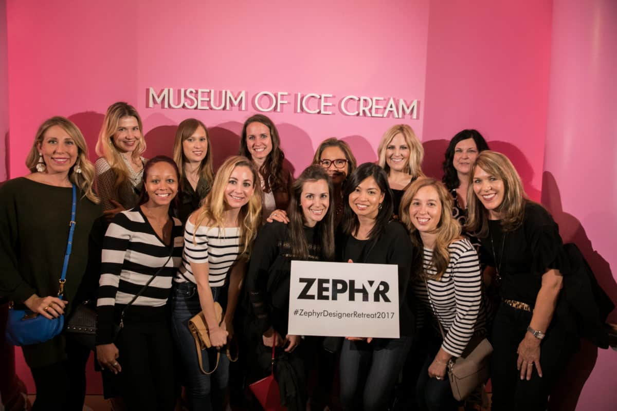 Museum of Ice Cream with Zephyr. #sponsored by Zephyr Ventilation. #ZephyrDesignTribe #ZephyrDesignerRetreat2017.