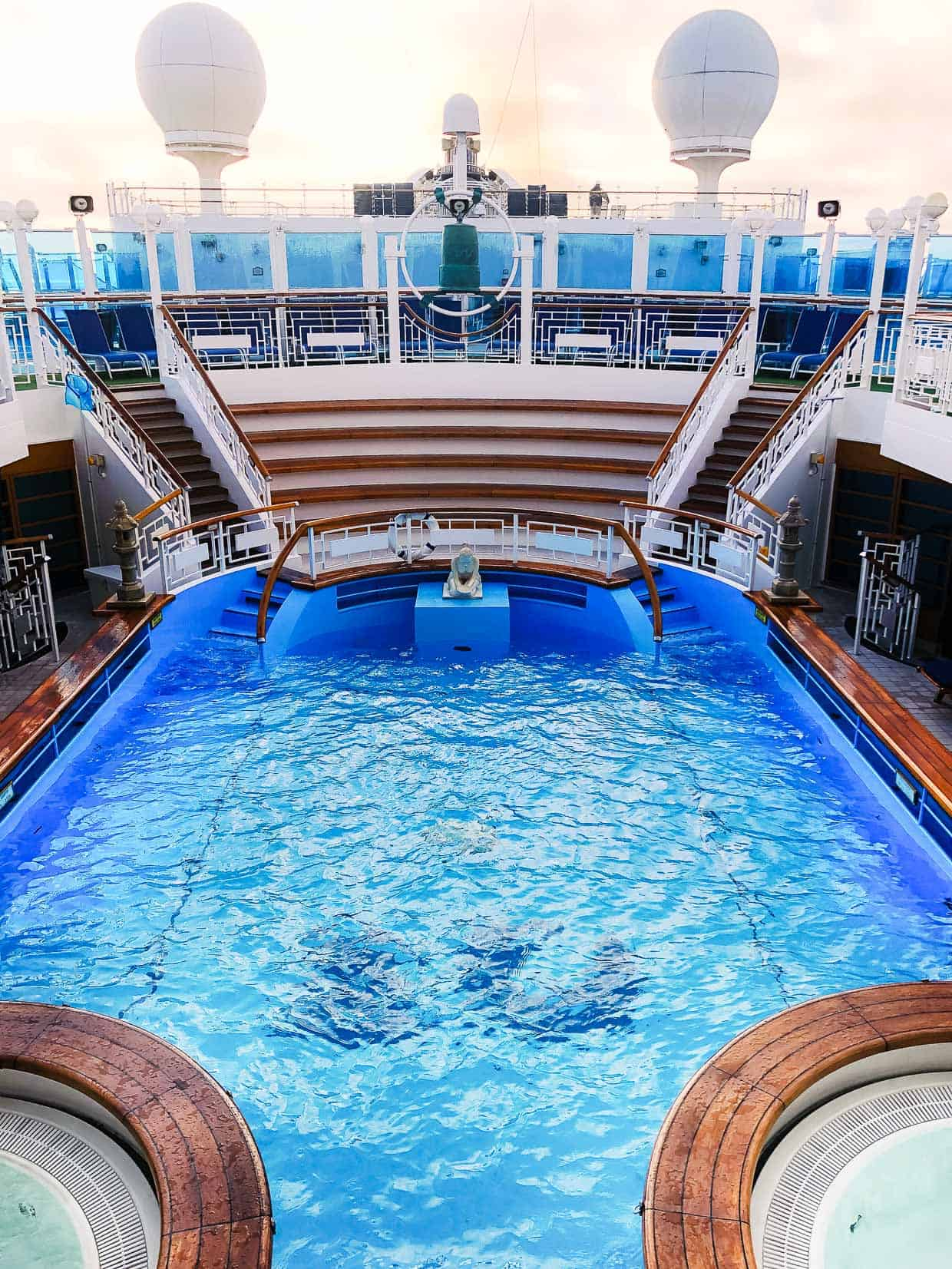 #ad Spa Pool on the Ruby Princess. Find out why we loved cruising the Mexican Riviera with Princess Cruises!