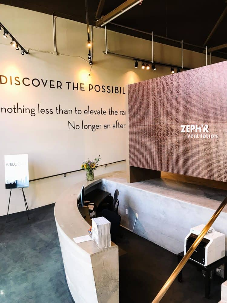 Check out the Zephyr Showroom and the Zephyr Designer Retreat. #sponsored by Zephyr Ventilation. #ZephyrDesignTribe #ZephyrDesignerRetreat2017.