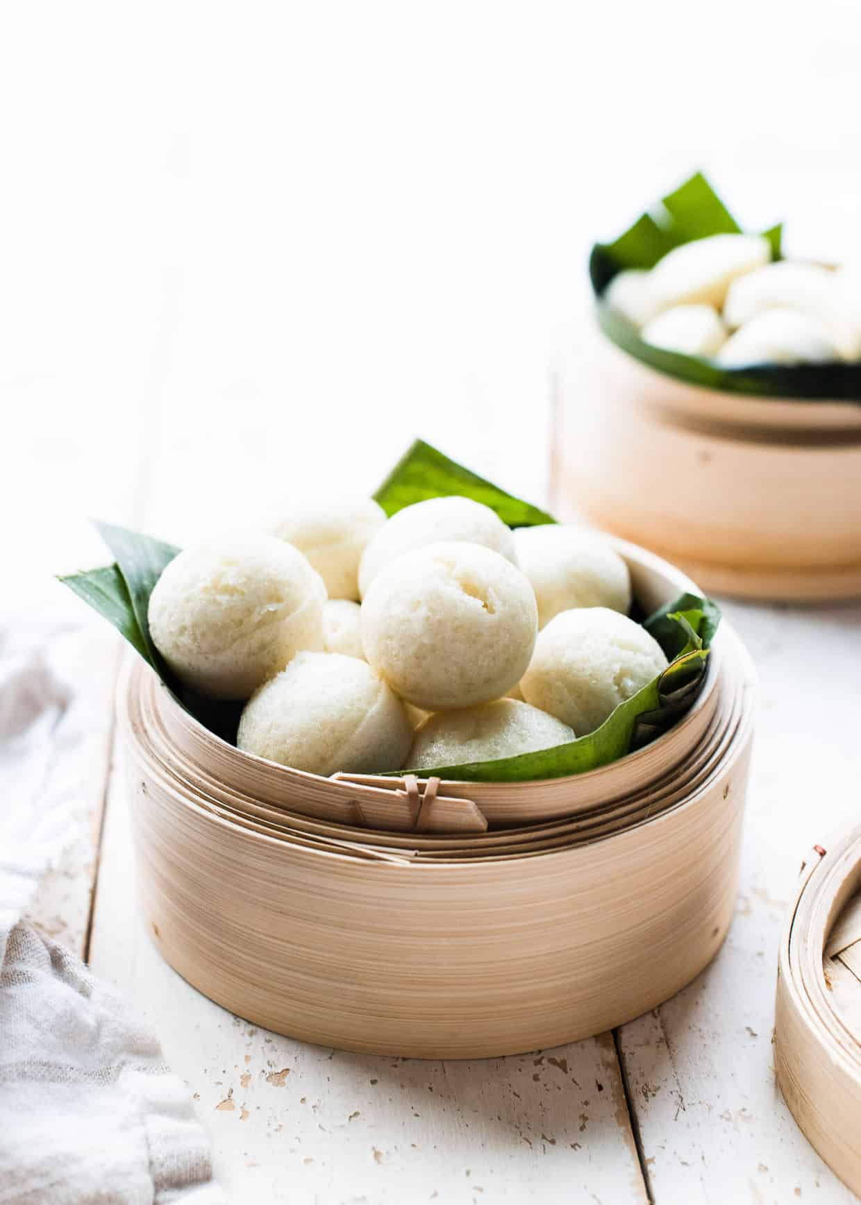 Puto: Filipino Steamed Rice Cakes