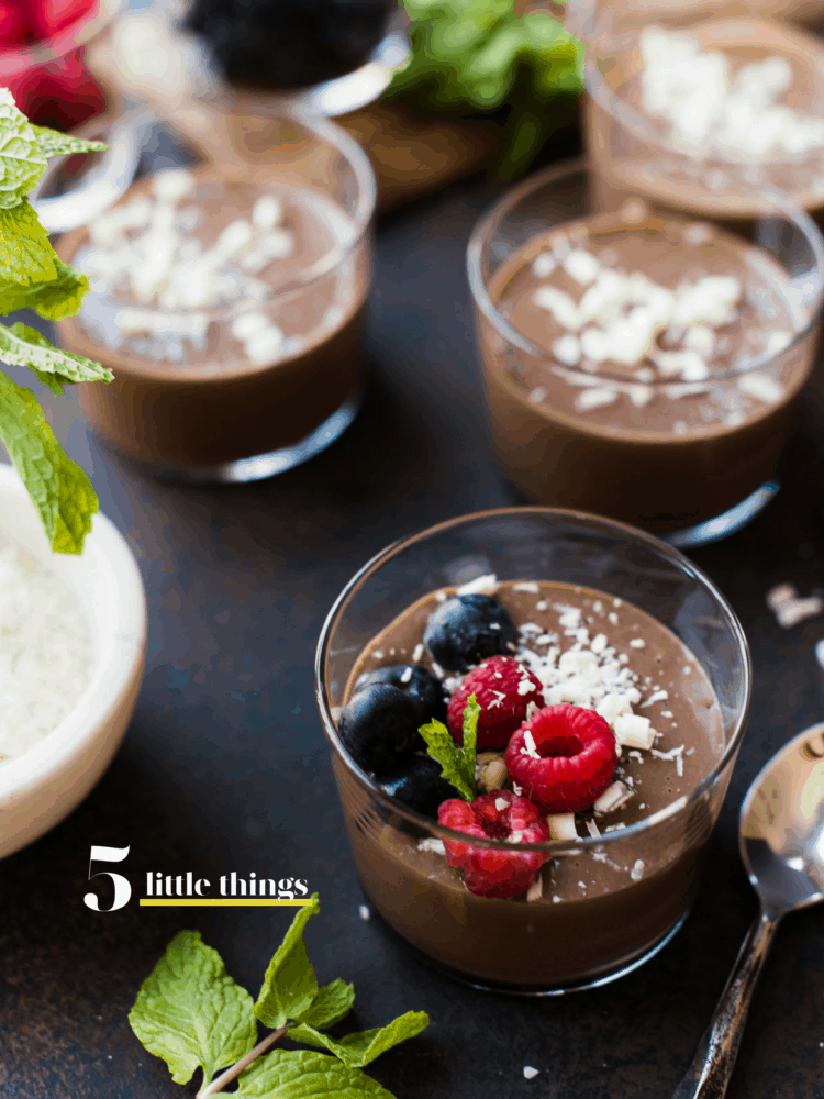 Chocolate Mousse Cups are one of Five Little Things I loved the week of April 28, 2018.