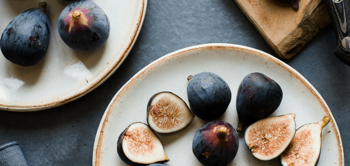Figs on a plate are some of the Five Little things I loved the week of August 31, 2018.