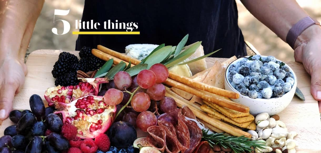 A visit to the olive grove and fall flavors are some of Five Little Things I loved the week of October 19, 2018.
