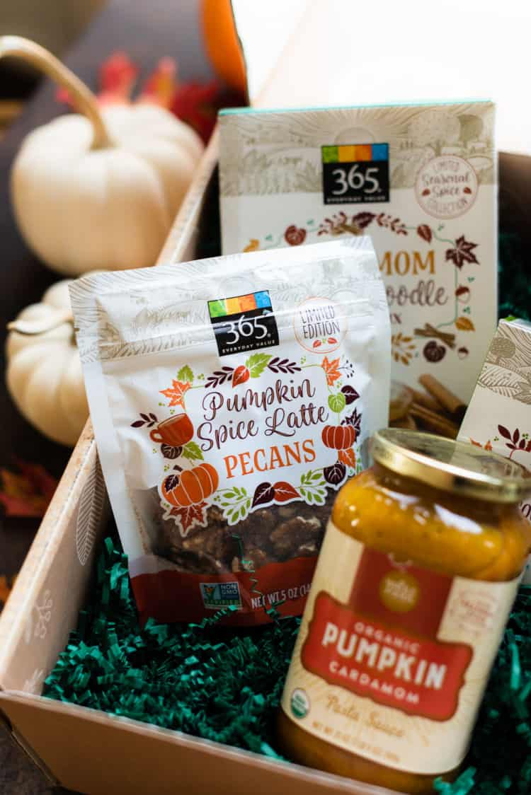 Pumpkin Spice Pecans from Whole Foods.