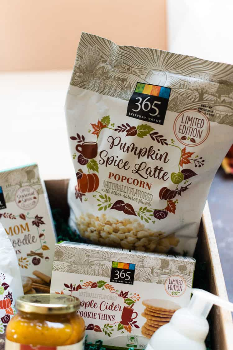 Pumpkin Spice Popcorn from Whole Foods.