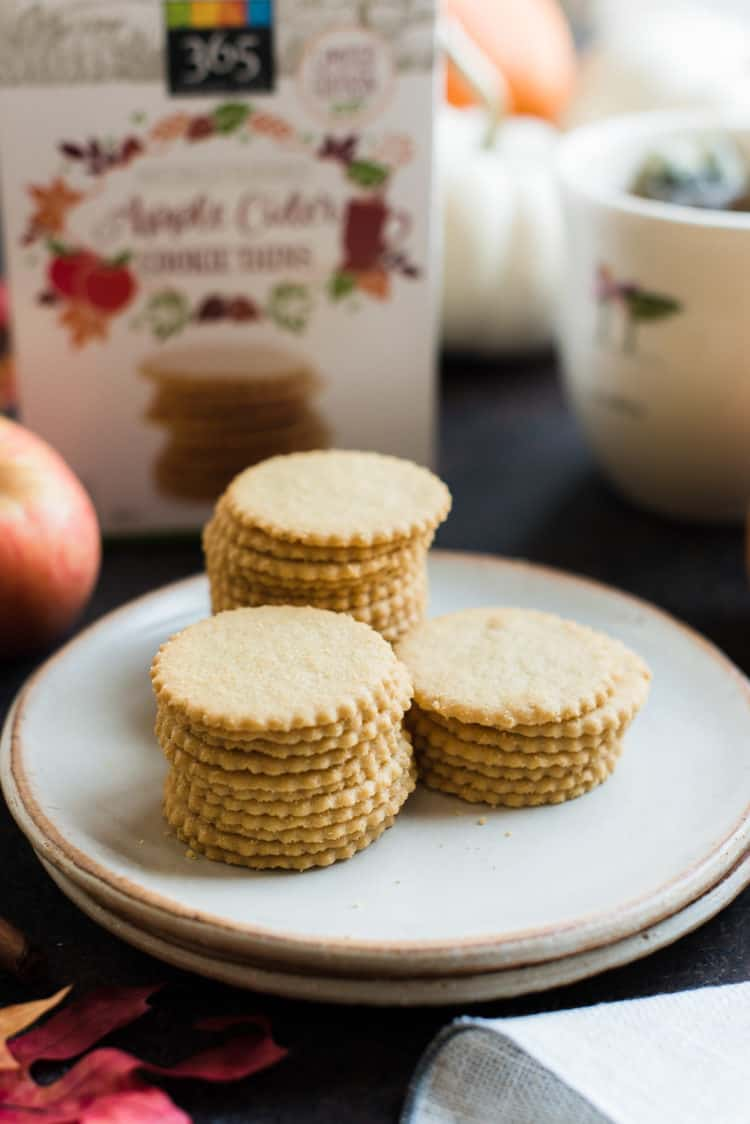Apple Cider Cookie Thins at Whole Foods Market