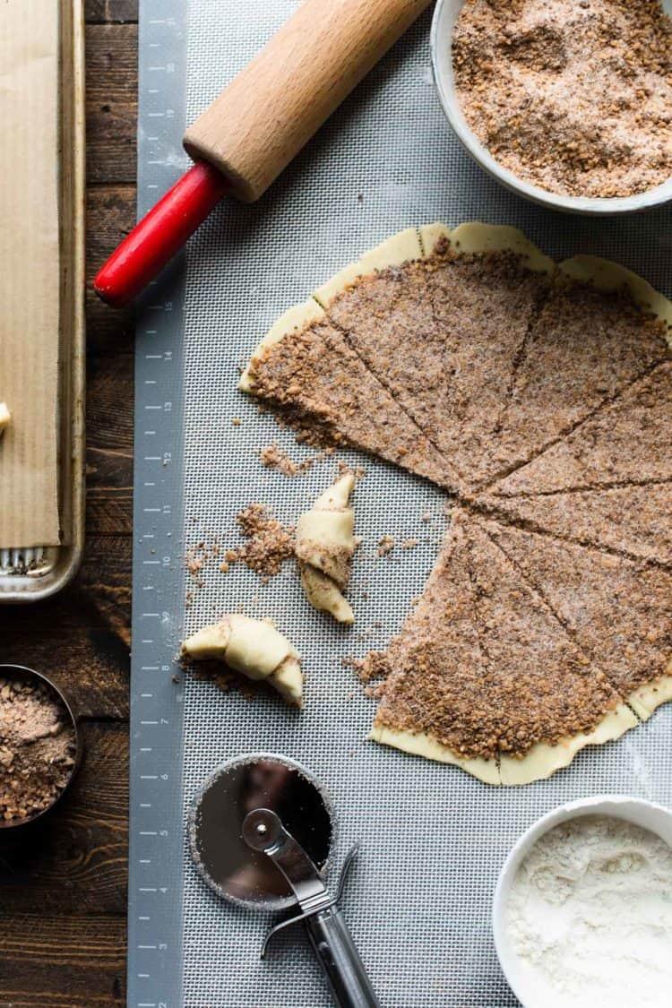 How to make Cinnamon Toffee Butterhorns Rugelach