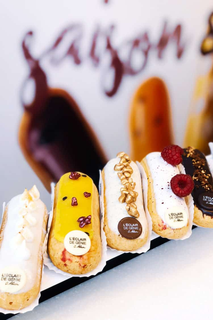 Eclairs from L'Eclair de Genie in Paris, France