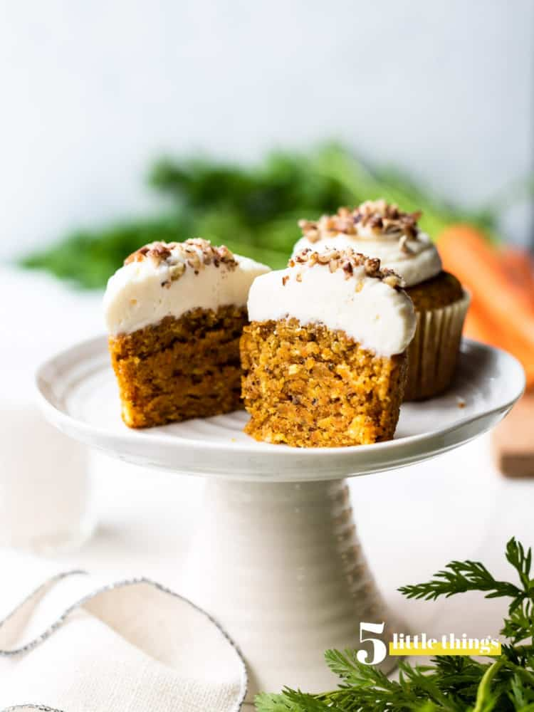 Carrot cake cupcakes are one of the Five Little Things I loved the week of April 26, 2019.