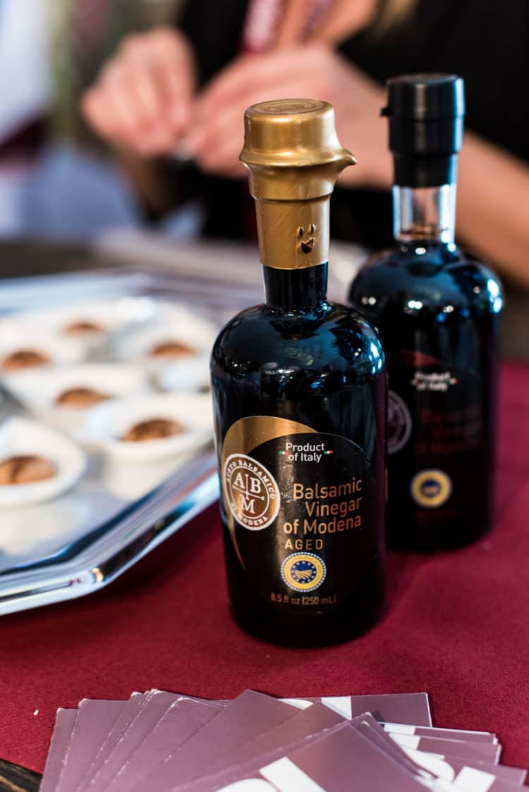 Balsamic Vinegar of Modena at PBFW 2019.