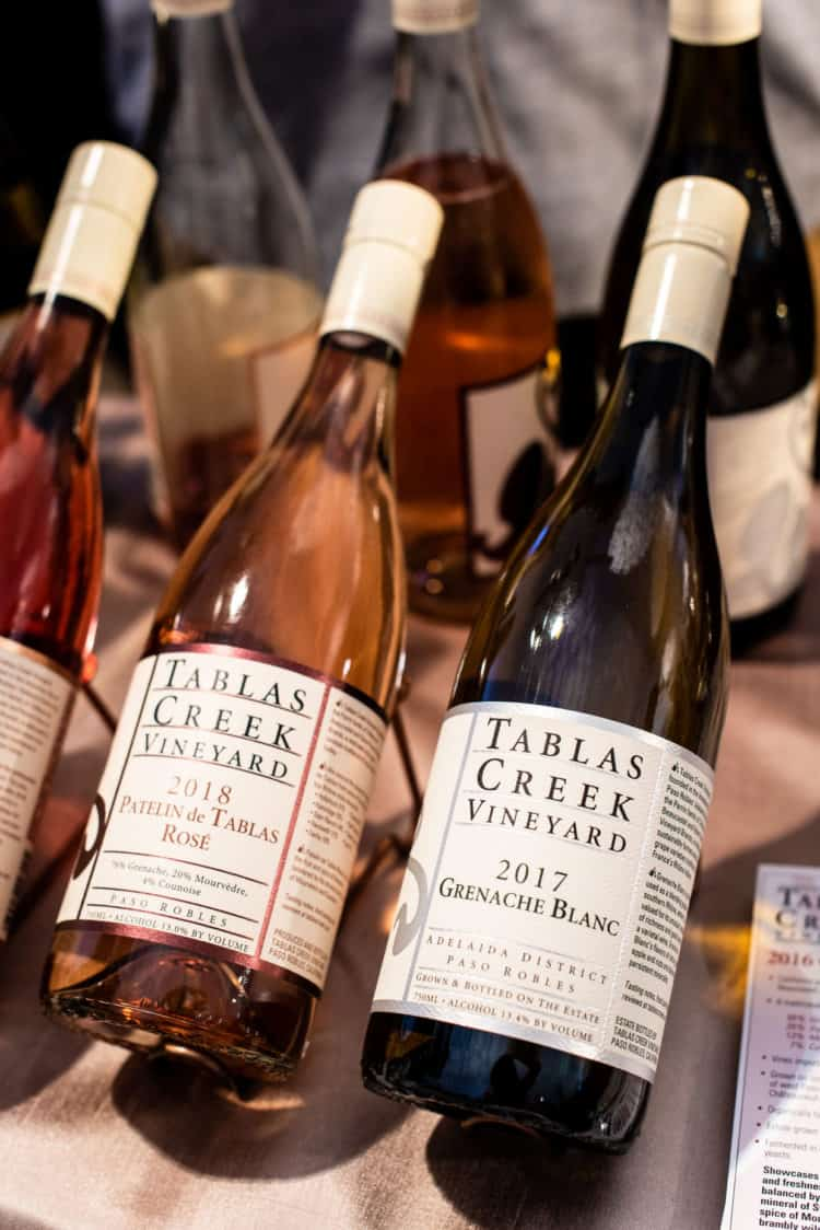 Tablas Creek Wines, PBFW Grand Tasting, 2019.