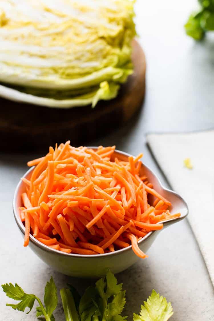 Veggies for Vegetarian Pancit Bihon