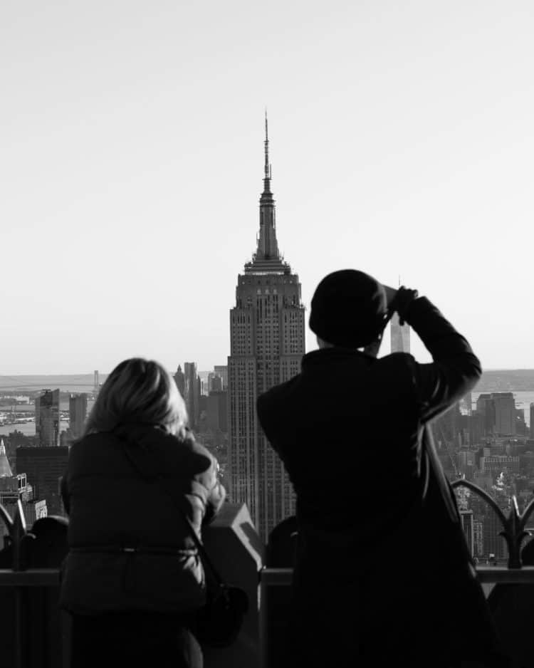 View of Empire State Building in A Taste of Midtown: New York Travel Guide.