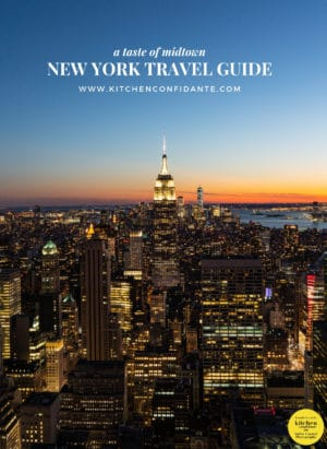 Night time view of Midtown New York in A Taste of Midtown: New York Travel Guide