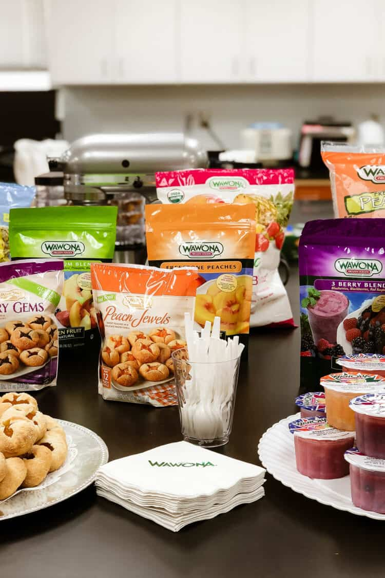 Products at Wawona Frozen Foods