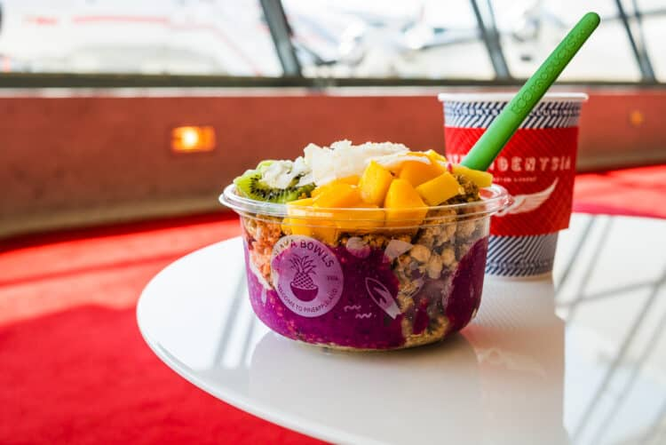 Playa Bowls from Departures Lounge, TWA Hotel